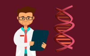 Kindergastroenterologe und DNA